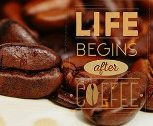 side bar coffee slogan