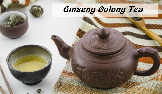 GINSENG OOLONG TEA