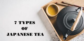 7 types of Japanese tea
