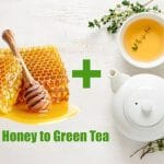 Can you add honey to green tea