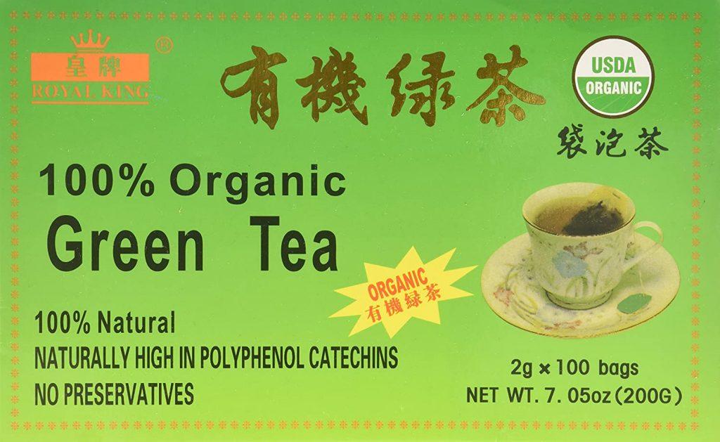 Royal King Green Tea 100 Tea Bags