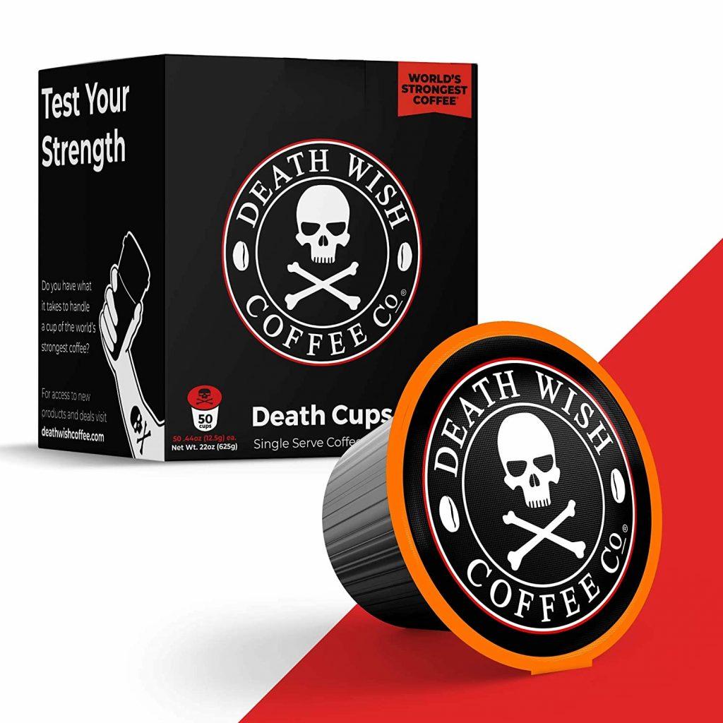 Strongest Keurig Coffee - DEATH WISH Death Cup